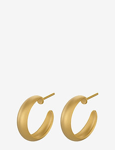 Soho Hoops - 18mm - GOLD PLATED