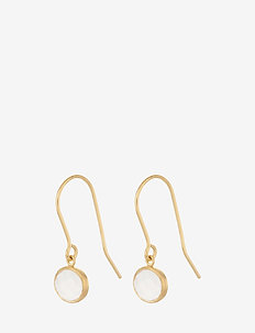 Frosted Earrings  22 mm - GOLD PLATED