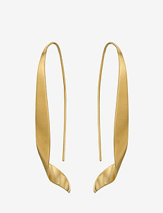 Ella Earrings Size 50 mm - GOLD PLATED