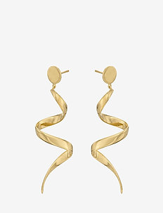 Loop Earrings Size 60 mm - GOLD PLATED