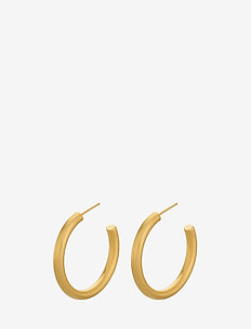 Beta Hoops - GOLD PLATED