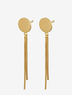 London Earsticks 8 mm Chain 30 mm - GOLD PLATED