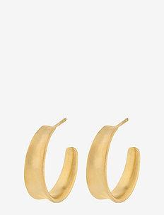 Small Saga Earrings  22 mm - GOLD PLATED