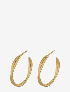 Paris Hoops 26 mm - GOLD PLATED