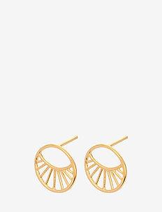 Daylight Earsticks Size 11 mm - studs - gold plated