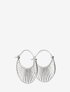 Large Daylight  Earrings 30 mm - SILVER