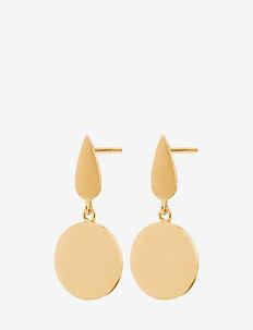 Dayglow Plain Earsticks Size 22 mm - GOLD PLATED