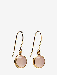 Aura Rose Earhooks - GOLD PLATED