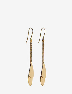 Raindrop Earhooks Size 70 mm - GOLD PLATED