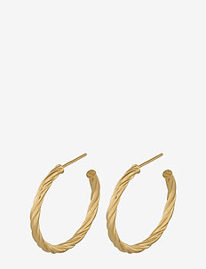 Bangkok Hoops 30 mm - GOLD PLATED