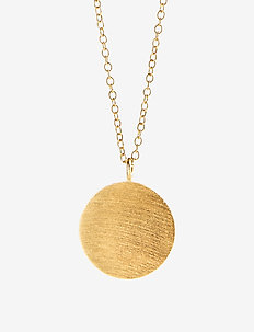 Coin Necklace - små halsband - gold plated