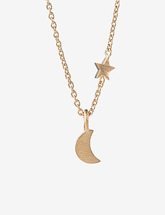 Luna Star Necklace  40-48 cm - GOLD PLATED