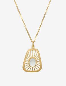 Thilde Necklace - små halsband - gold plated