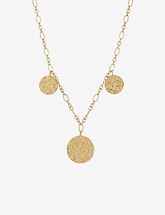 New Moon Necklace  Adj.40-48 - GOLD PLATED