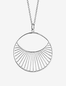 Daylight Necklace Short  40-48 cm - SILVER