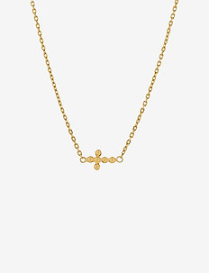 Cross Necklace 40-45 cm Adj. - GOLD PLATED