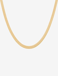 Edith Necklace Adj.  47-52 cm - små halskjeder - gold plated