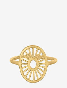 Small Daylight Ring - gold plated