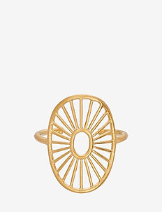 Daylight Ring Adjustable - ringer - gold plated