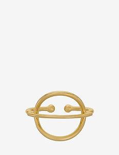 Horizon Ring Adj. - GOLD PLATED