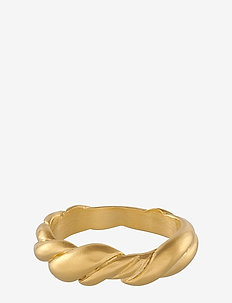 Hana Ring - ringar - gold plated