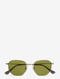 SARTORIA - okrągłe okulary przeciwsłoneczne - silver