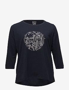 VASO - pitkähihaiset t-paidat - navy blue