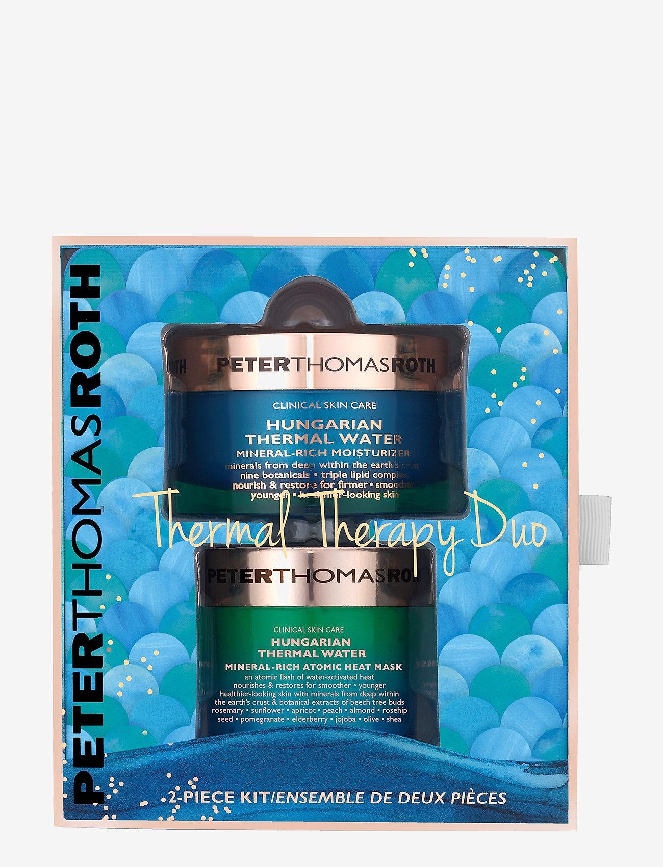 Peter Thomas Roth - Thermal Therapy Duo - ihonhoitosetit - no color - 0