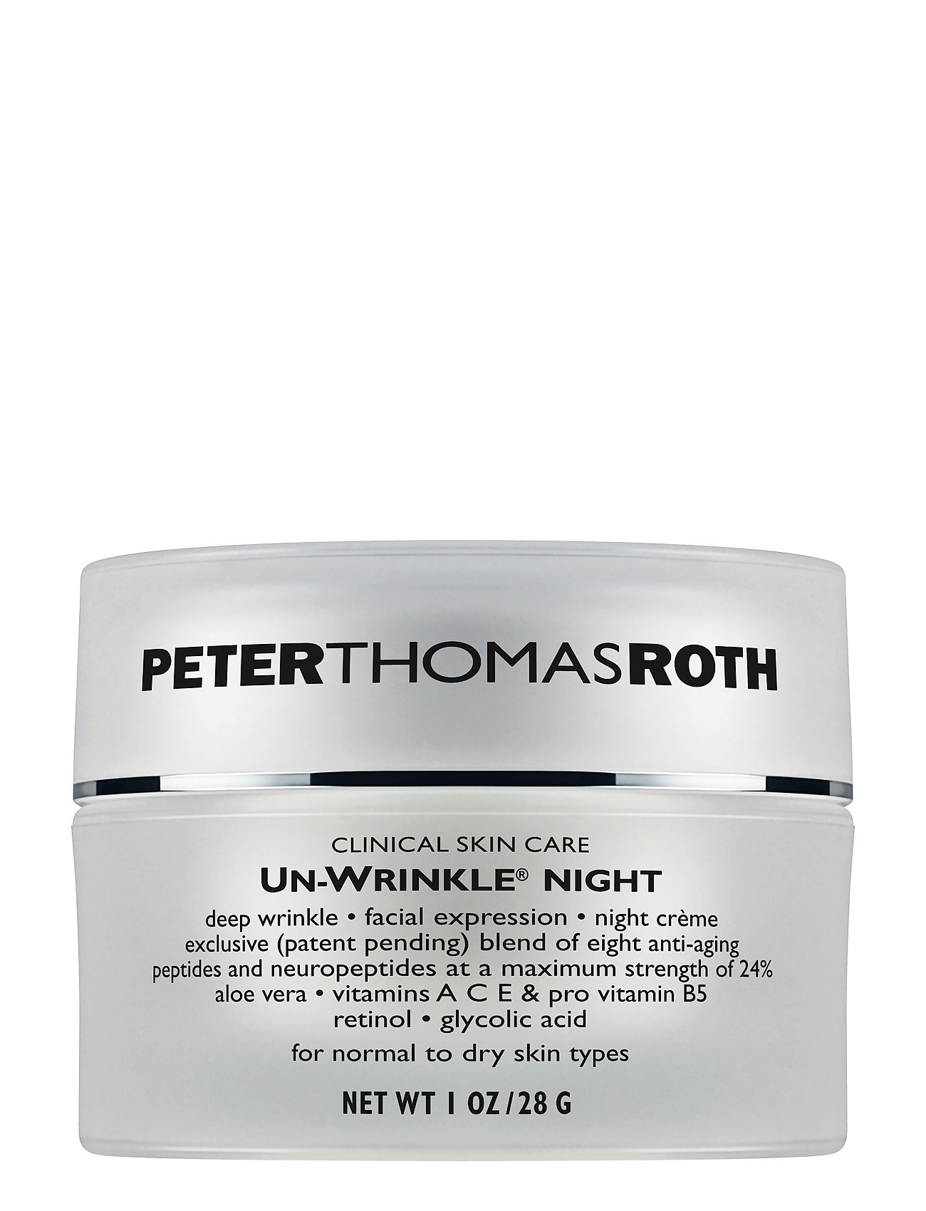 Peter Thomas Roth Un-Wrinkle Night Cream - NO COLOR