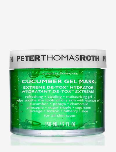 Cucumber Detox Gel Mask - ansigtsmasker - no color