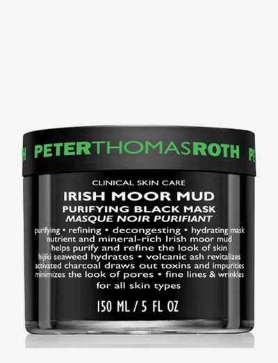 Irish Moor Mud Purifying Black Mask - ansiktsmasker - no color