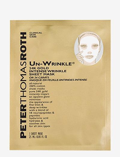 Un-Wrinkle 24kgold Sheetmask 6 Sheet - sheet mask - no color