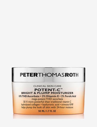 Potent C Bright &Plump Moisturizer - dagkräm - clear