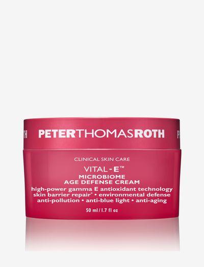 Vital-E Microbiome Age Defence Cream - dagkräm - clear