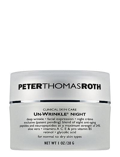 Un-Wrinkle Night Cream - NO COLOR