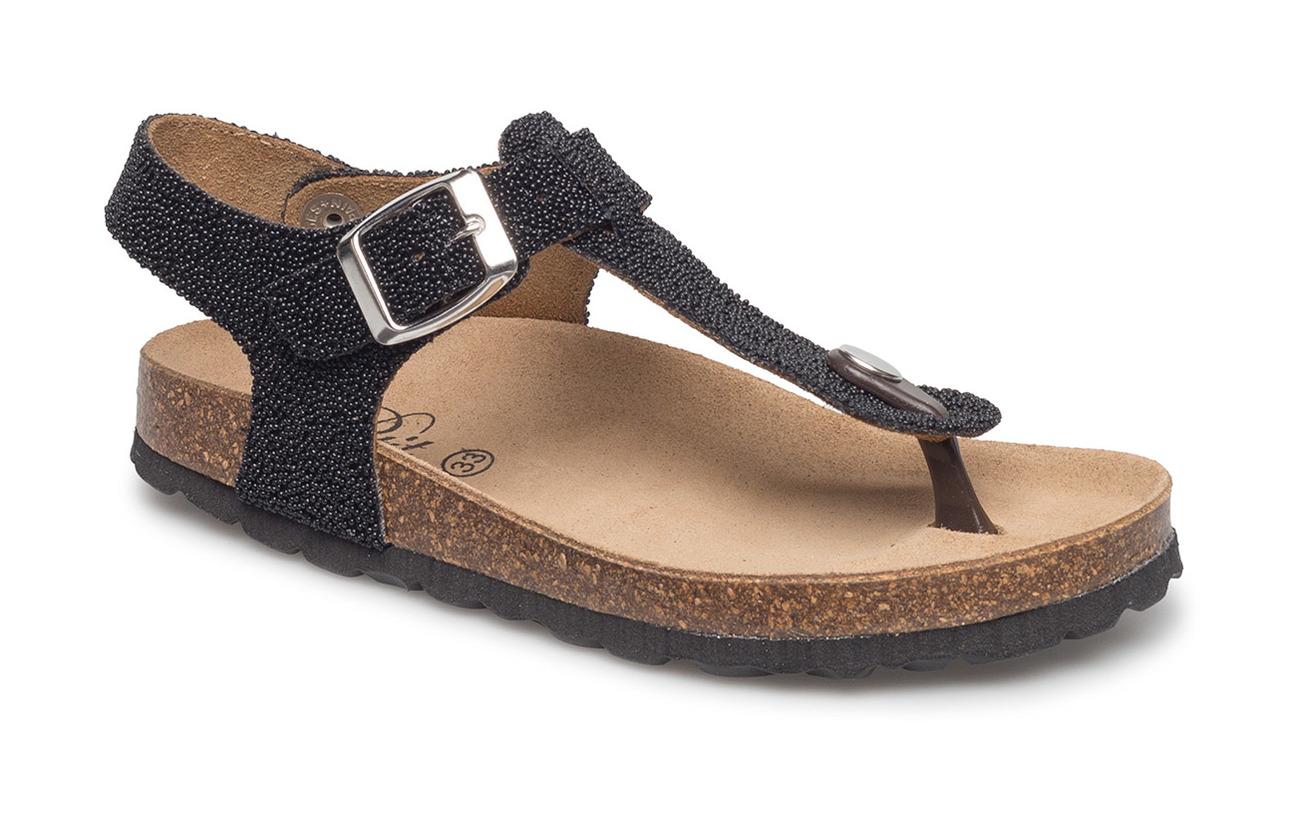 81b382789a43 Sandal Caviar (Black) (£44.25) - Petit by Sofie Schnoor -