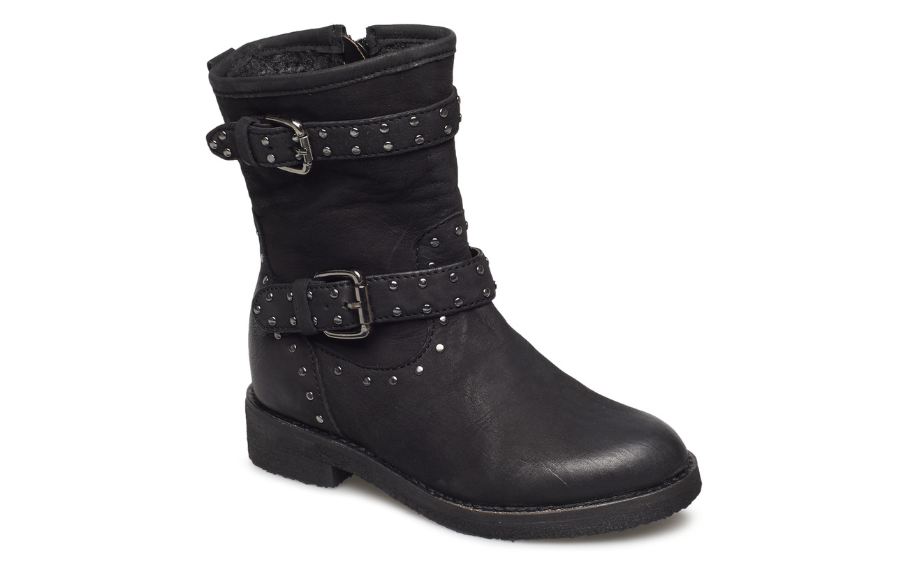 Petit by Sofie Schnoor Boot w. studs - BLACK