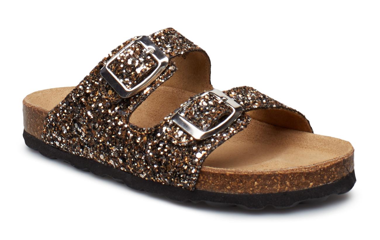 Sandal, glitter 2 straps
