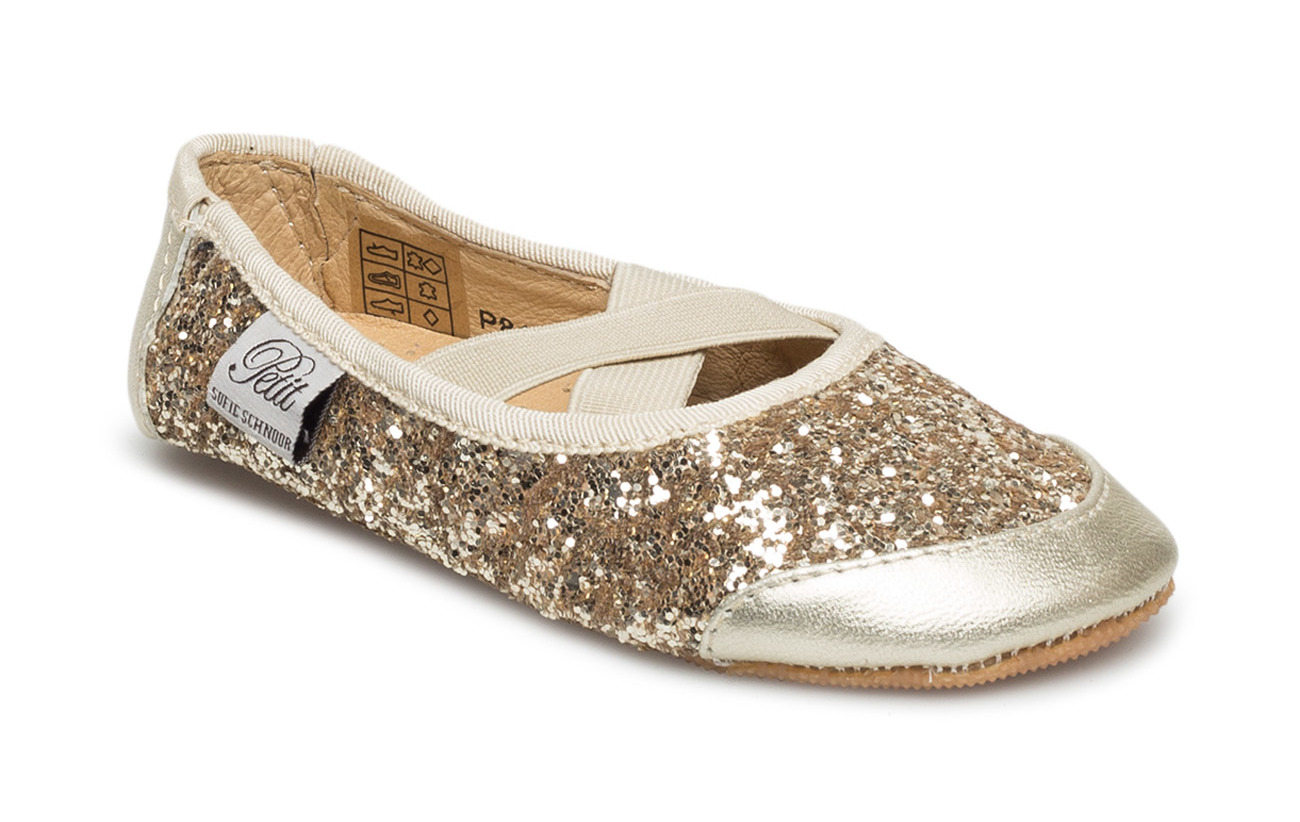 Petit by Sofie Schnoor Indoors shoe - glitter - CHAMPAGNE