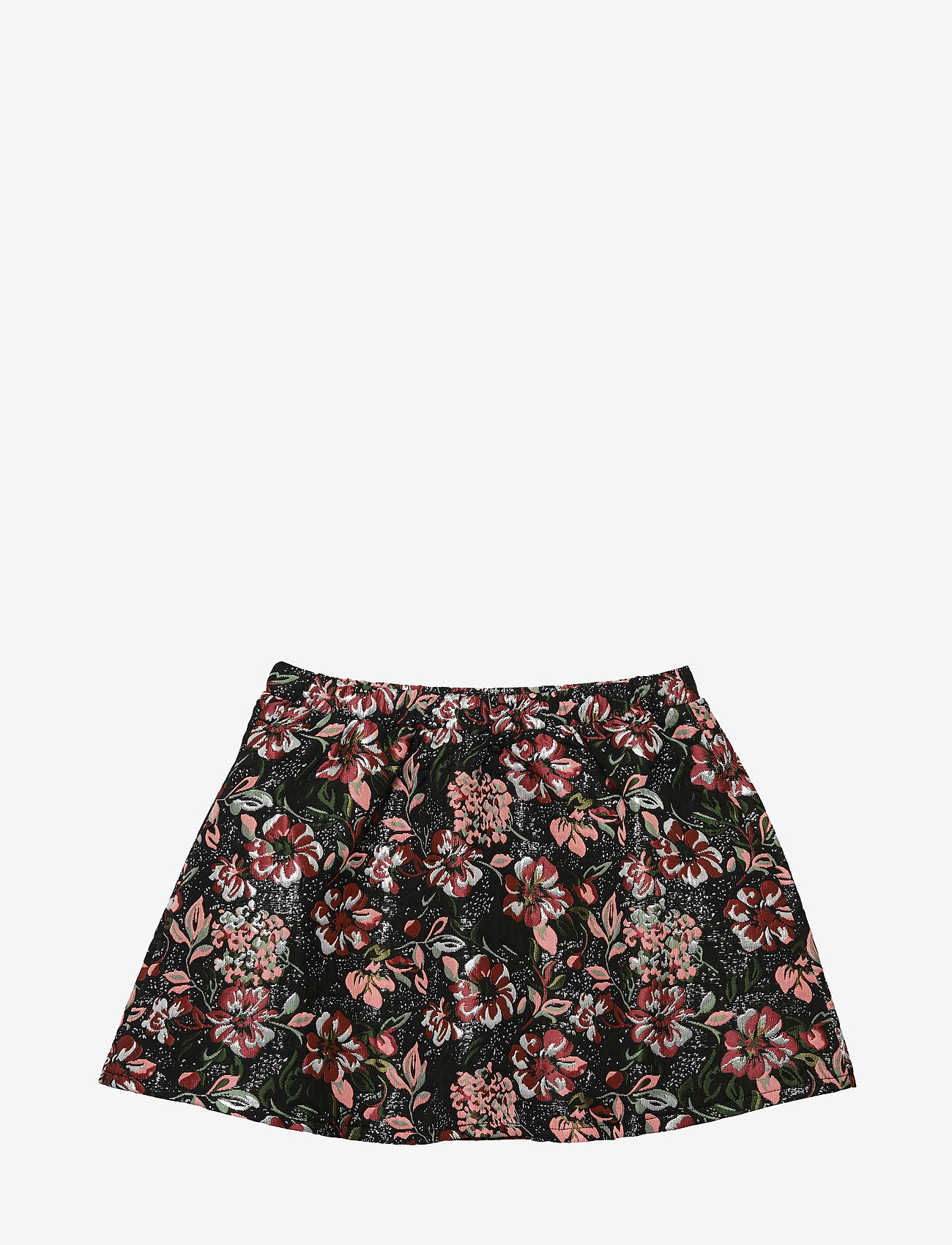 Petit by Sofie Schnoor - Skirt - nederdele - blk flower - 1