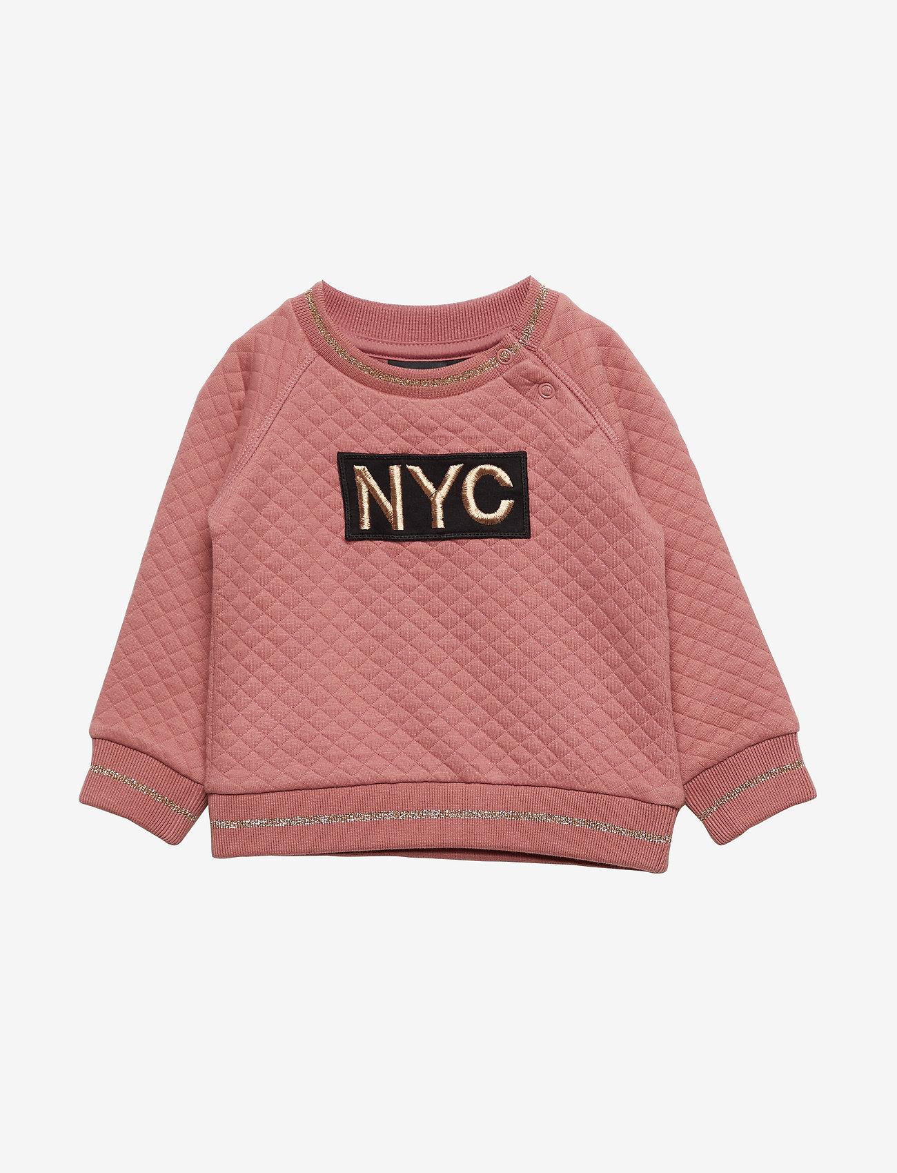 Petit by Sofie Schnoor - Sweat NYC - sweatshirts - dusty rose - 0