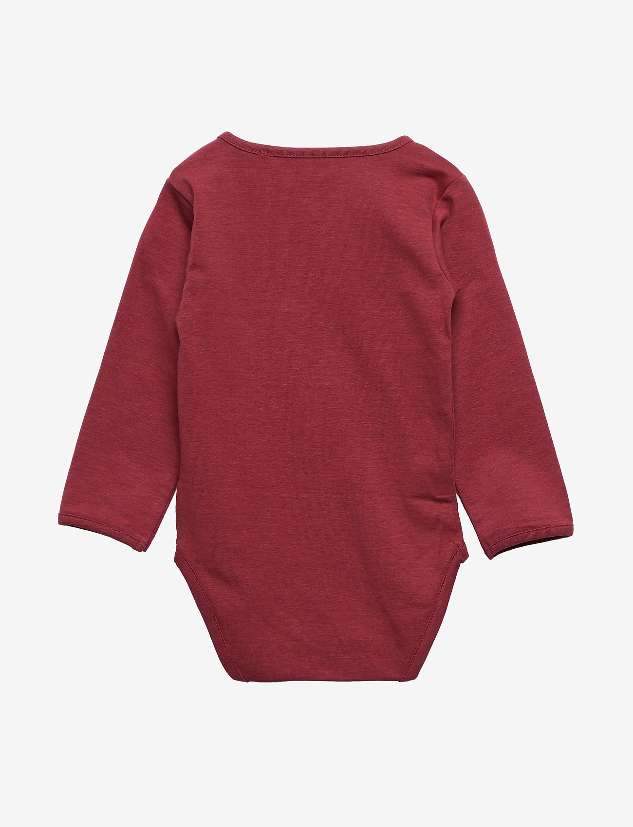 Petit by Sofie Schnoor - Body - langærmede - earth red - 1