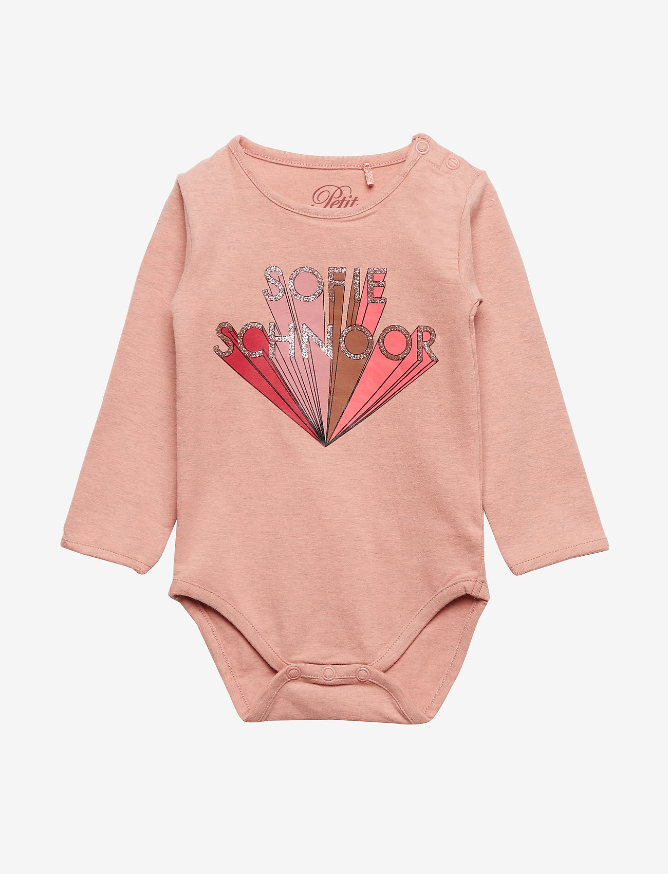 Petit by Sofie Schnoor - Body - manches longues - rose - 0