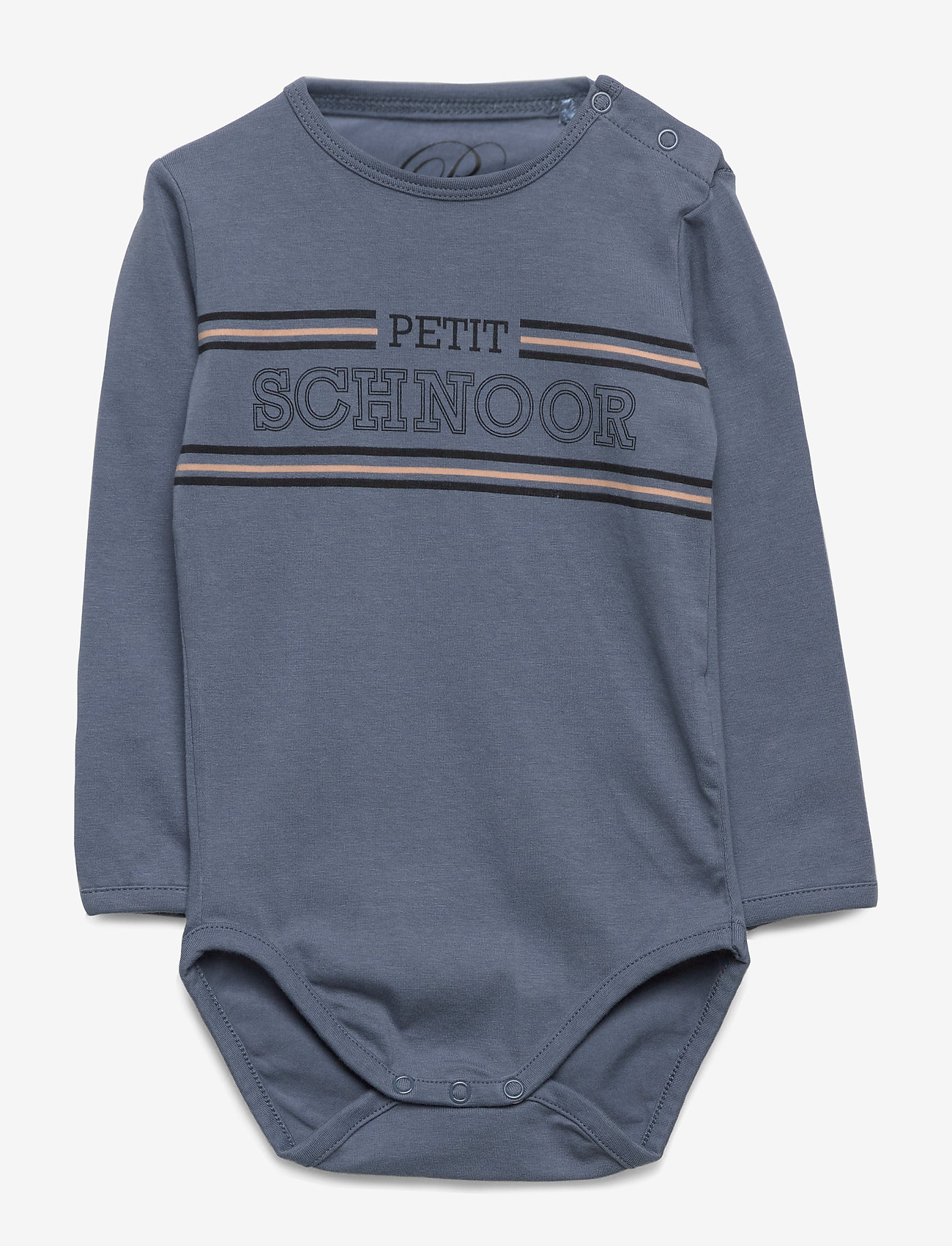 Petit by Sofie Schnoor - Body - kortærmede - washed dusty blue - 0