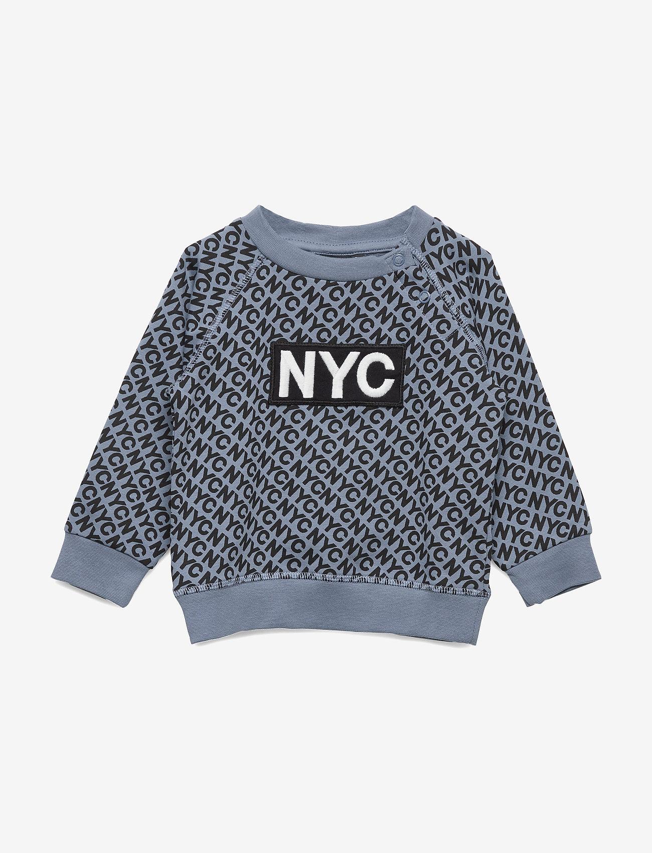 Petit by Sofie Schnoor - Sweat NYC - sweatshirts - dusty blue - 0