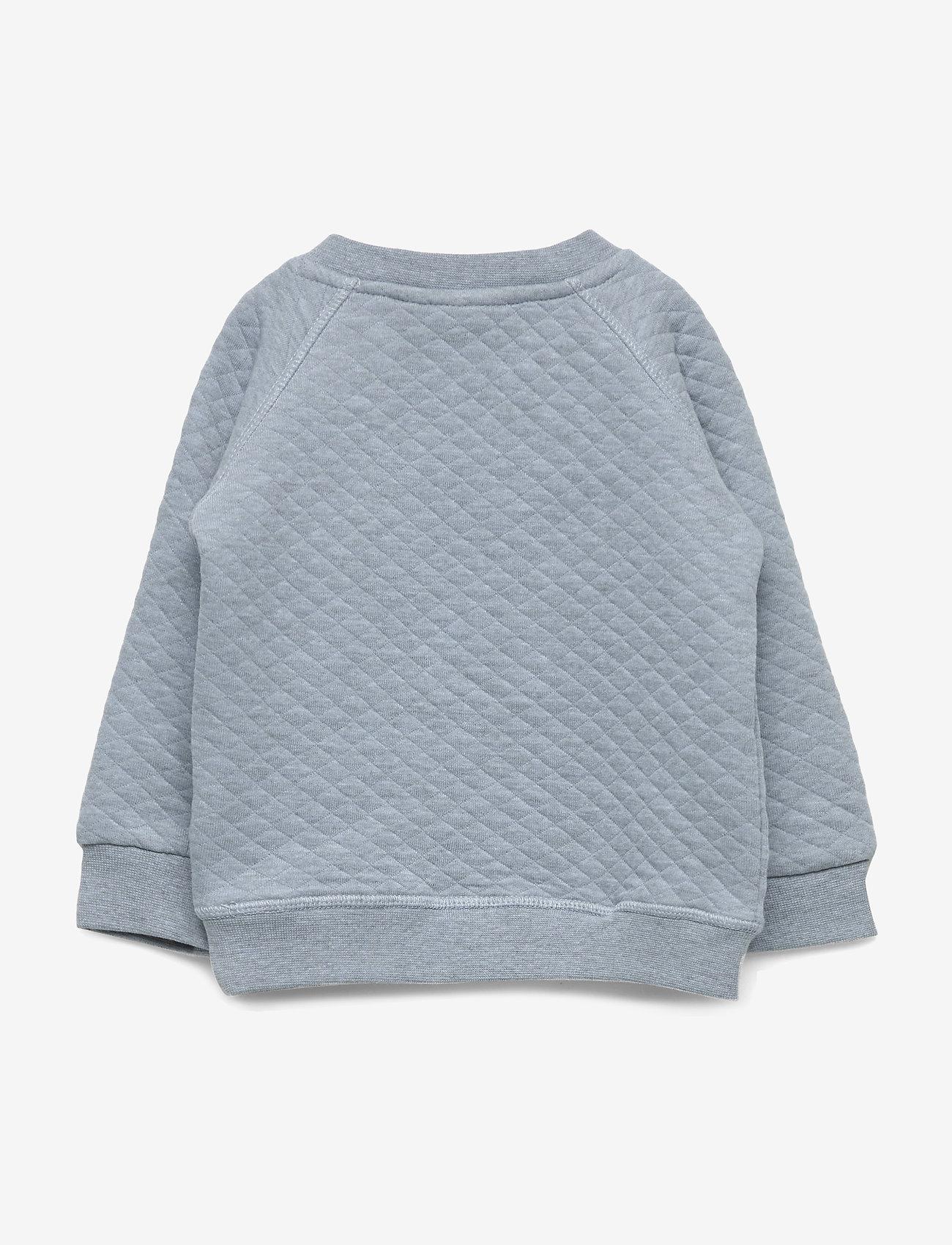Petit by Sofie Schnoor - Sweat NYC - sweatshirts - light blue melange - 1