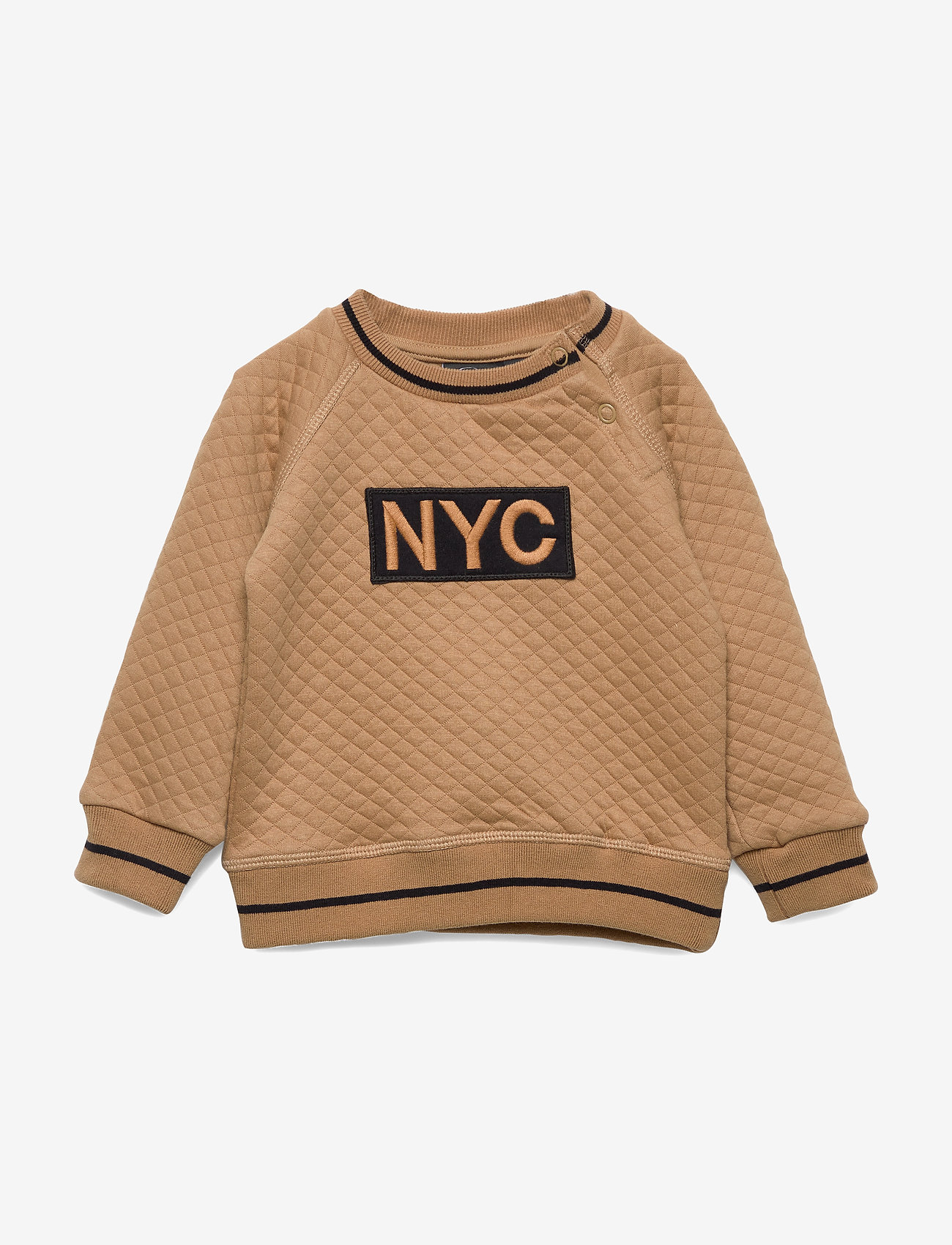 Petit by Sofie Schnoor - Sweat NYC - sweatshirts - camel - 0