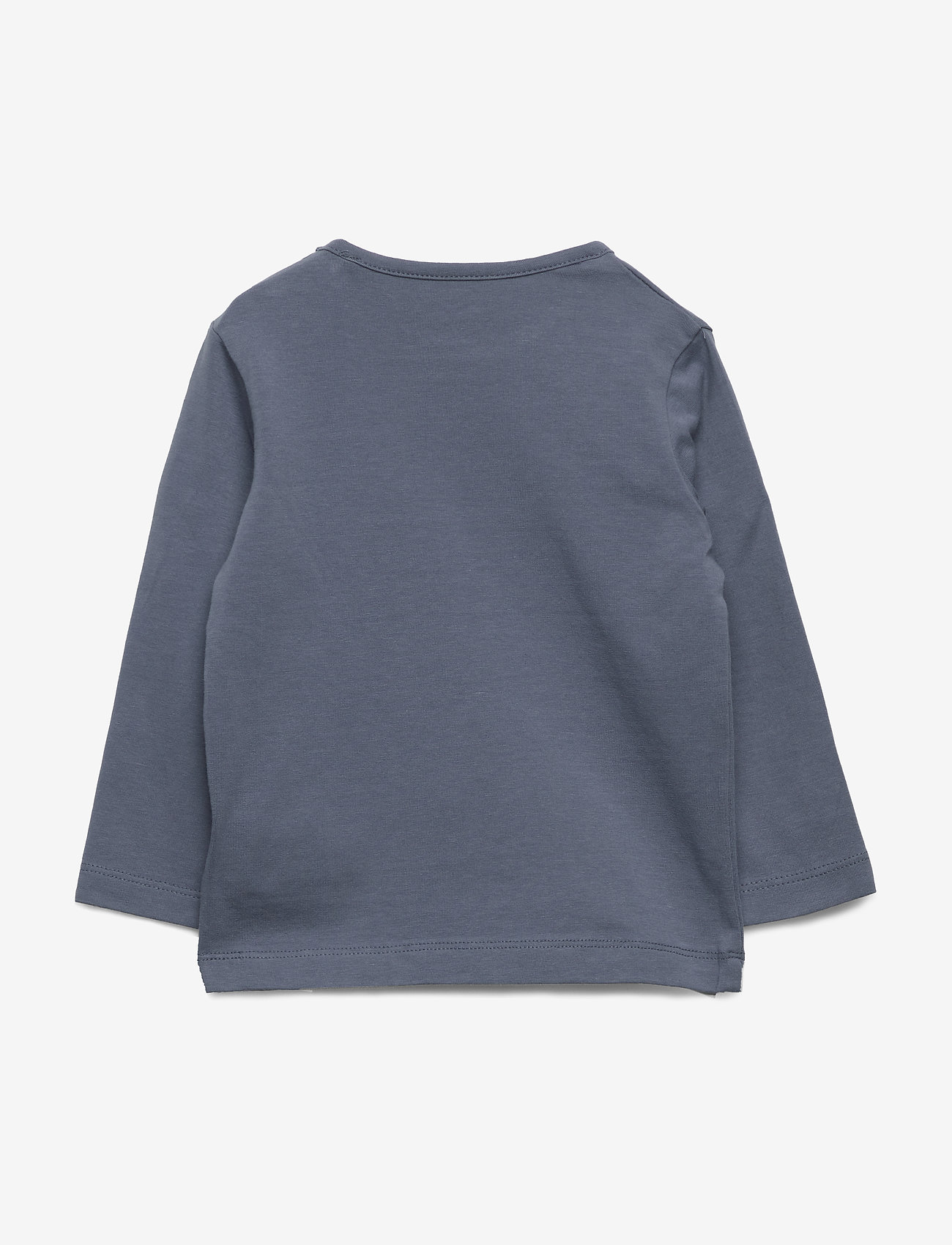 Petit by Sofie Schnoor - T-shirt LS - langærmede t-shirts - washed dusty blue - 1