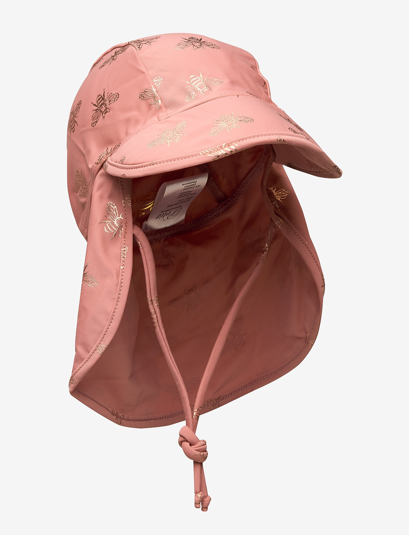 Petit by Sofie Schnoor - Swim hat - czapka uv - dusty rose - 0