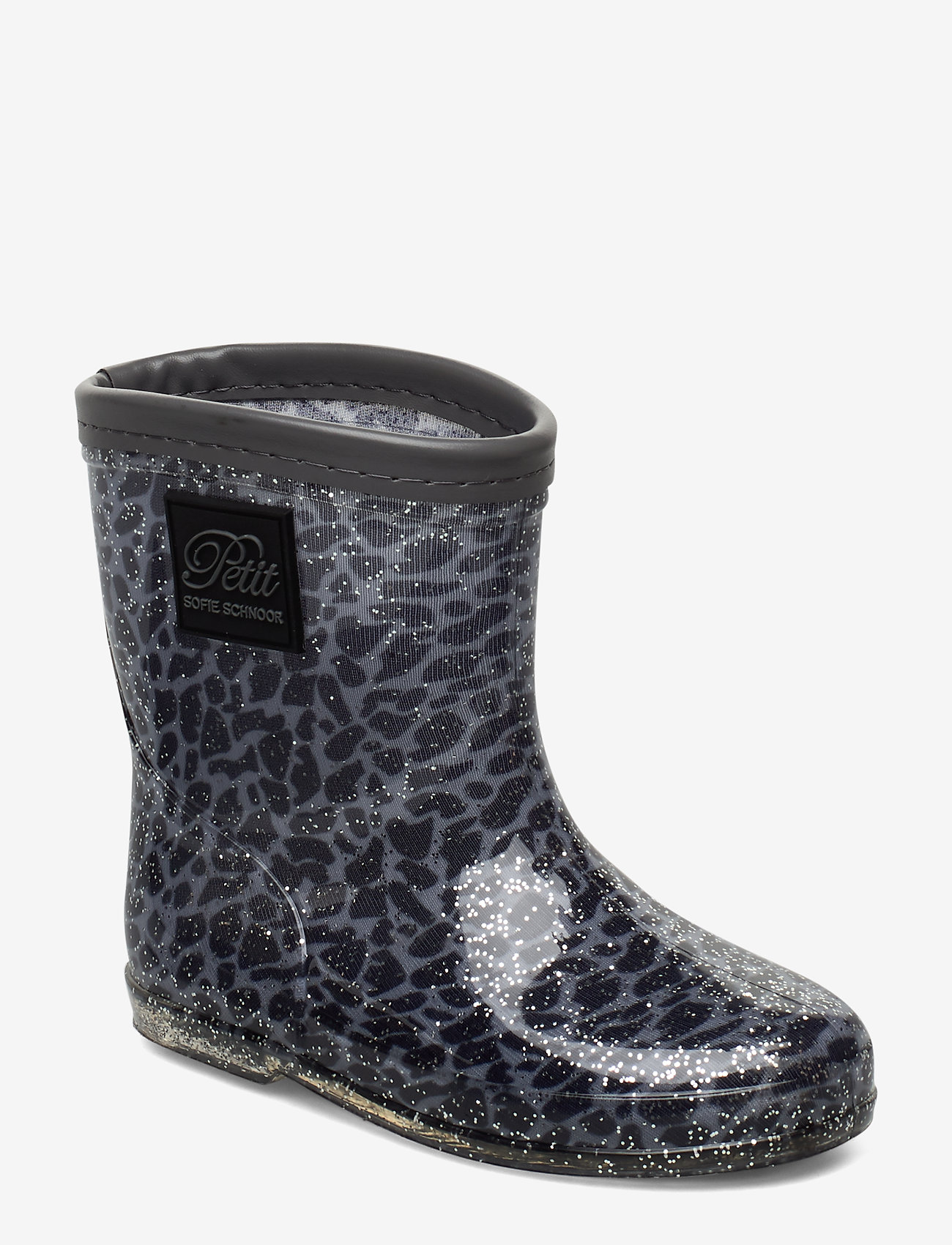 Petit by Sofie Schnoor gummistövel grå leopard